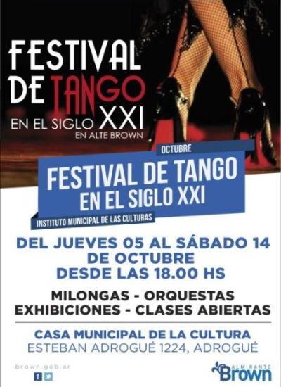 Arranca el festival de tango de Almirante Brown