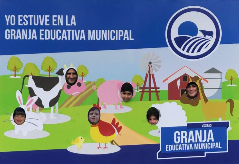 Cascallares invitó a los vecinos a visitar la Granja Educativa Municipal el fin de semana