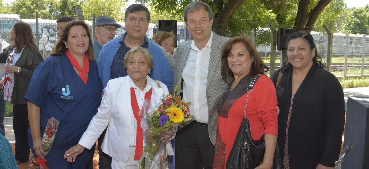 Cascallares encabezó homenaje a las enfermeras de Alte Brown