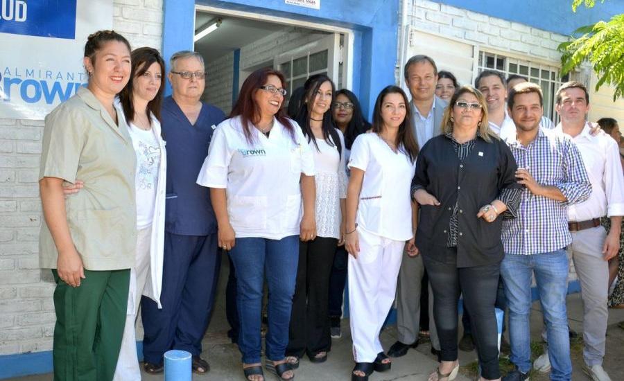 Cascallares inauguró un nuevo centro de salud en el barrio Vitum de Longchamps