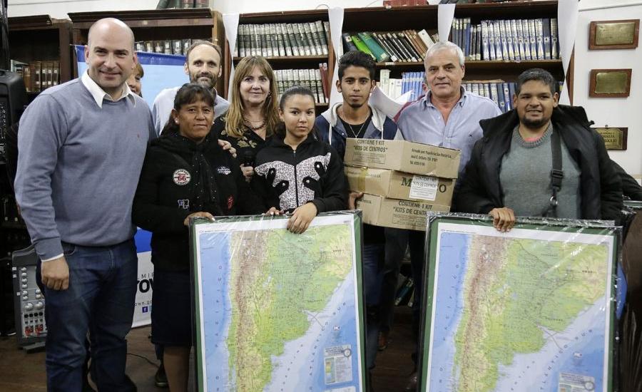 Con 110 centros, arranca en Brown el programa de alfabetización local