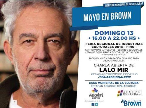 Brown palpita una nueva edición de la Feria Regional de Industrias Culturales