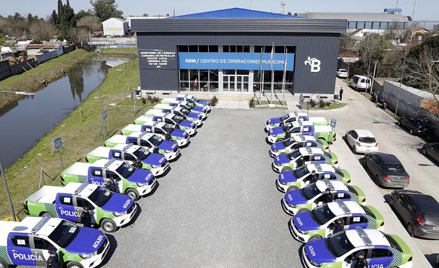 Se incorporaron 20 móviles policiales para la prevención en Alte Brown