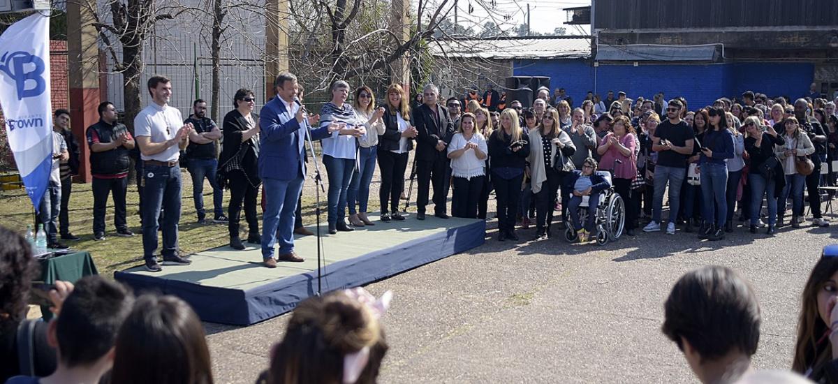 La localidad de San Francisco de Asís celebró un nuevo aniversario