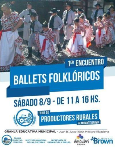 Feria de productores rurales y encuentro de folclore mañana en la granja educativa municipal