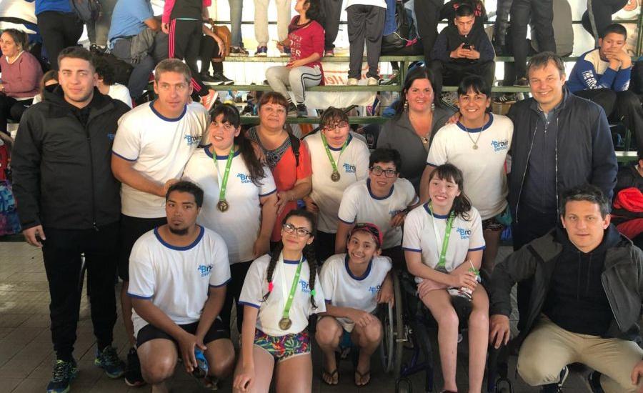 Cascallares acompañó y felicitó a los deportistas brownianos que cosecharon 35 medallas en los juegos bonaerenses 2018