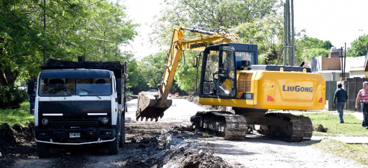 El municipio de Alte Brown inició la construcción de una completa estación de trasbordo en Claypole