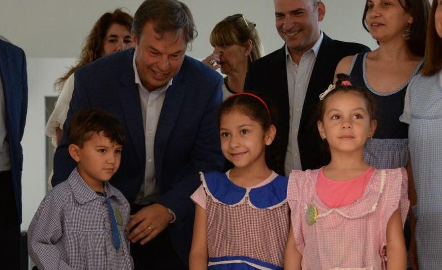 Inauguró en Ministro Rivadavia un nuevo Jardín de Infantes para Alte. Brown