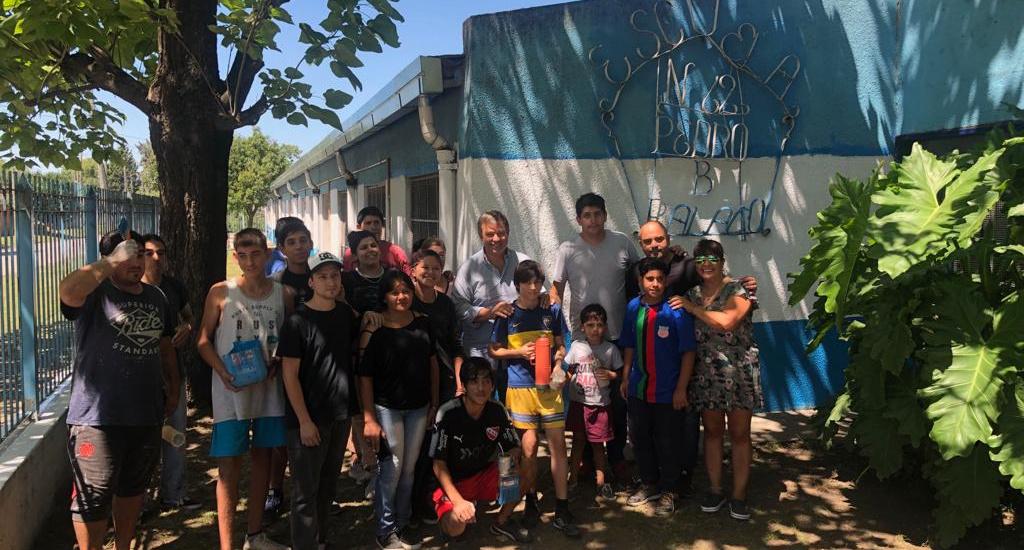 """El programa """"El Municipio presente en las Escuelas"""" avanza con éxito en Claypole"""