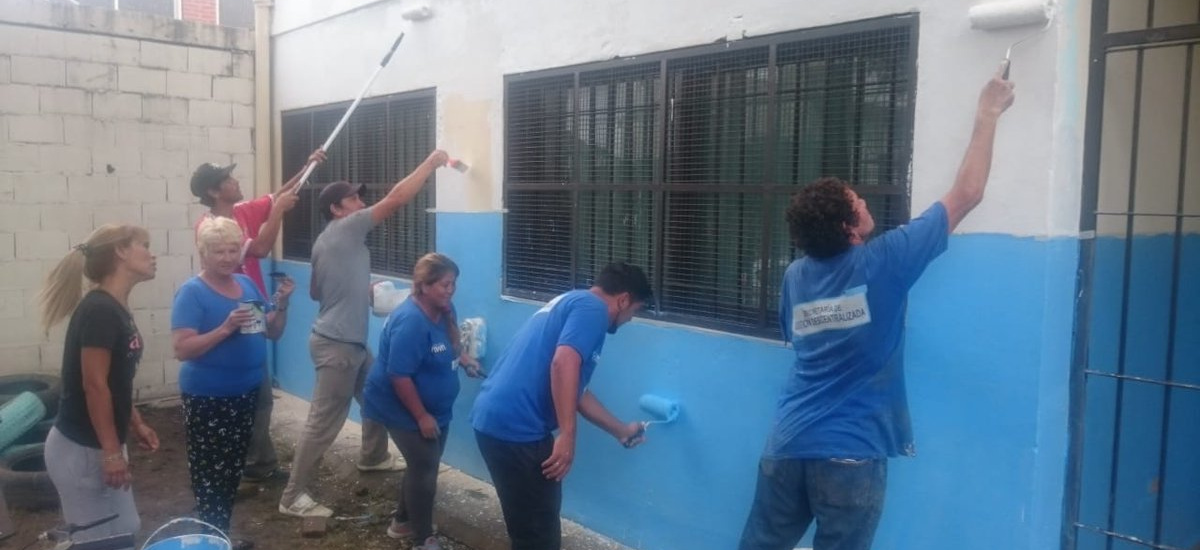 """El Programa """"El Municipio presente en las Escuelas"""" en Malvinas Argetinas"""