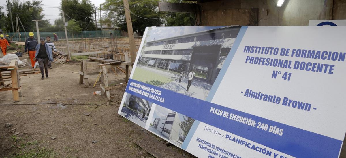 Histórico: El Muncipio construye un edificio inteligente y sustentable para el Instituto Superior de Formación docente Nº 41