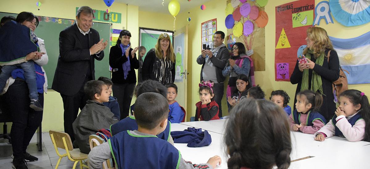 Cascallares celebró el Día de la Maestra Jardinera junto a cientos de alumnos y familias de Don Orione