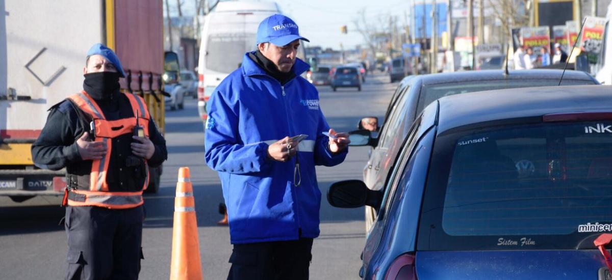 En el primer semestre del año, el Municipio de Brown secuestró 652 vehículos e incautó 3788 licencias de conducir