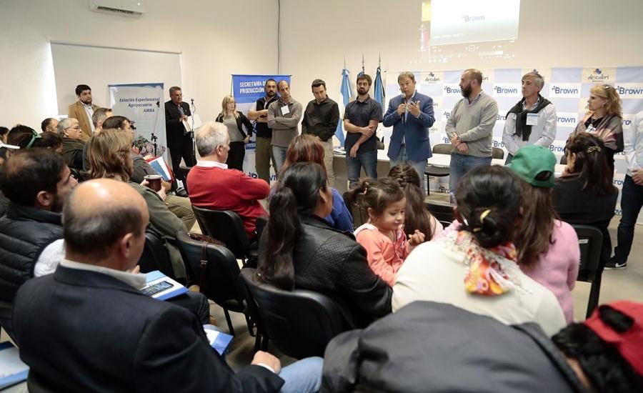 Alte Brown encabezó un encuentro con municipios de la región para potenciar  el desarrollo rural