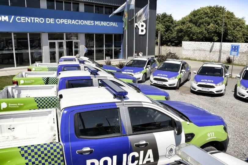 Nuevos móviles policiales para la prevención del delito en Alte Brown