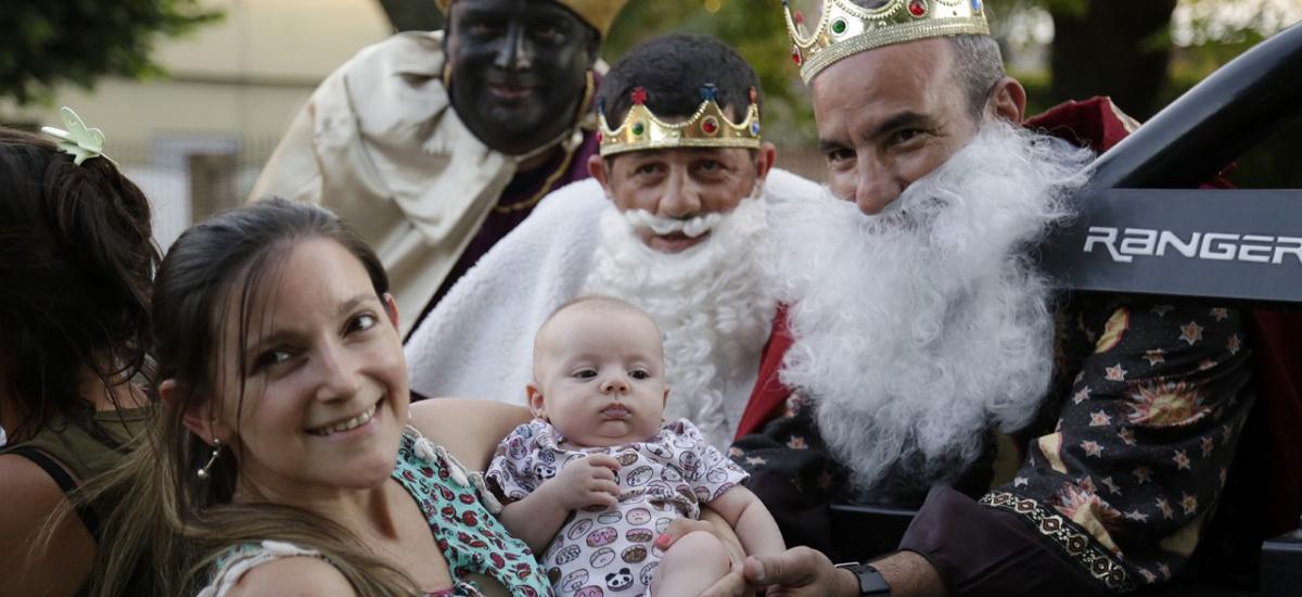 Llega la caravana de los reyes magos con foods trucks y actividades para toda la familia