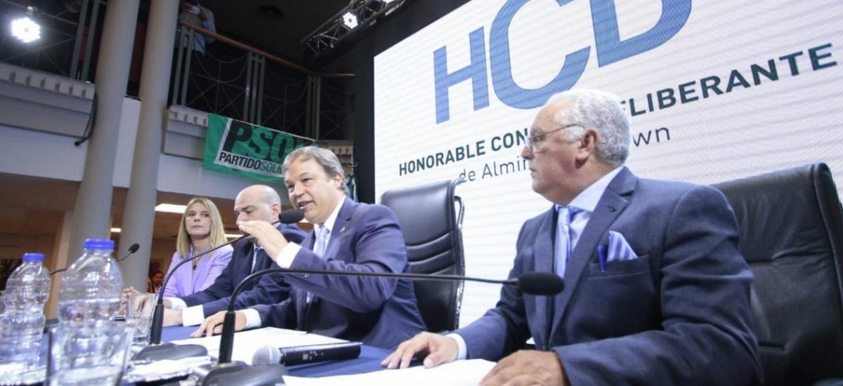 CASCALLARES ABRIÓ LAS SESIONES ORDINARIAS Y LLAMÓ A LA UNIDAD DE TODOS