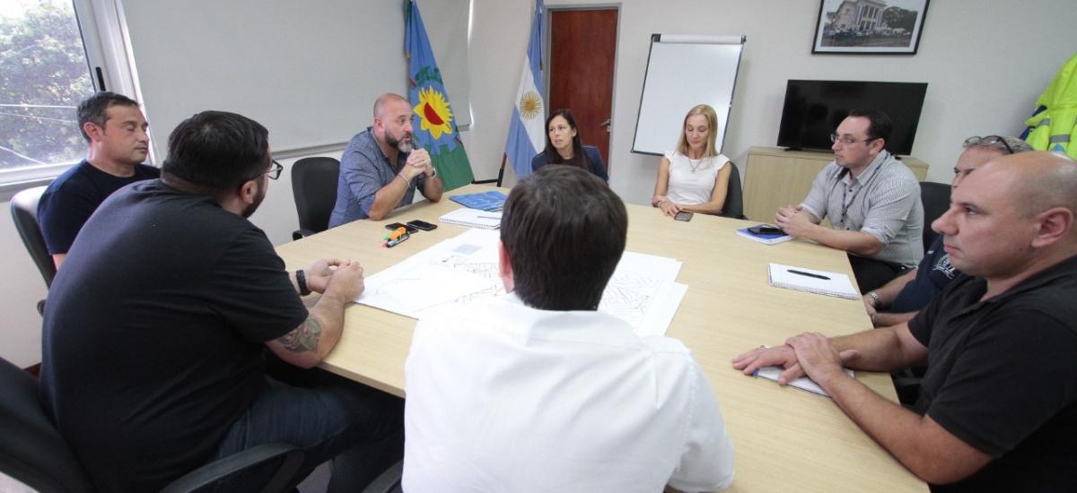 El municipio articula acciones con supermercados y líneas de colectivos por el Coronavirus