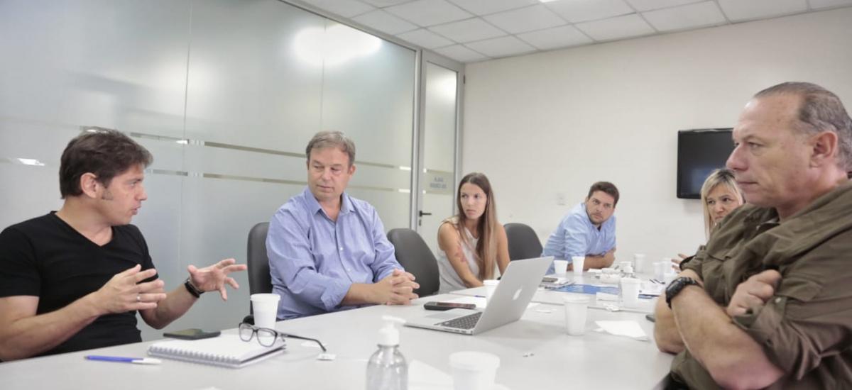 Cascallares recibió a Kicillof y a Berni para coordinar medidas ante la emergencia sanitaria