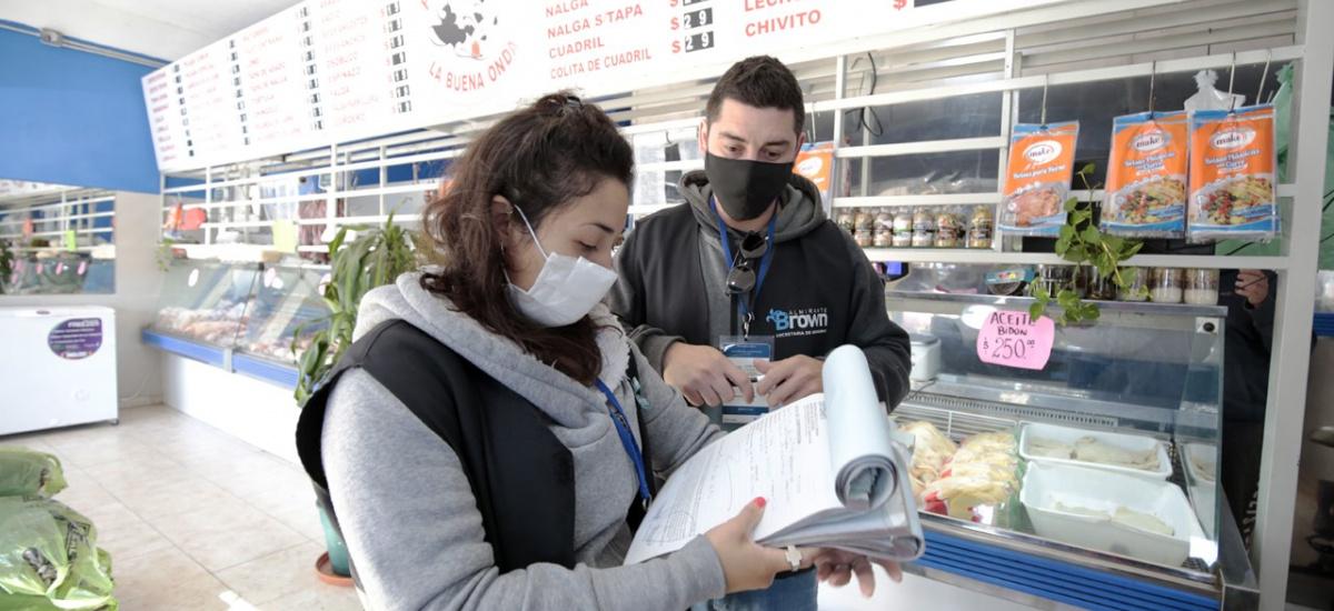 El municipio de Alte Brown realiza controles de precios en carnicerías