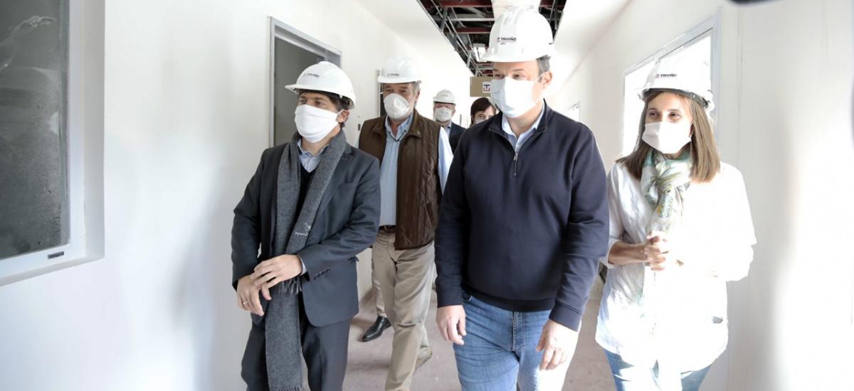 Provincia y Municipio avanzan con las obras para poner a punto el hospital Oñativia