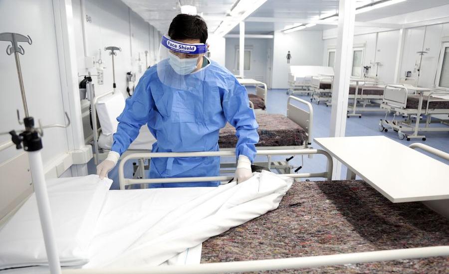 El nuevo hospital de Longchamps ya recibió pacientes covid-19