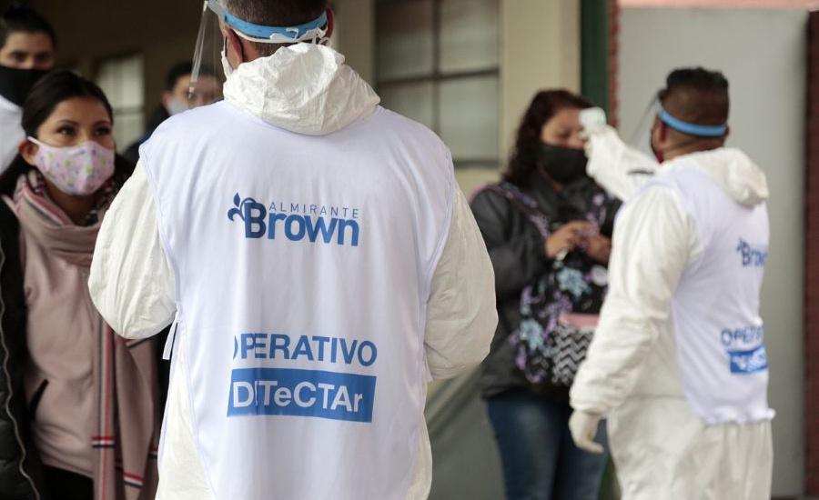 El programa DETeCTAr desembarcó en las estaciones de trenes de Alte Brown