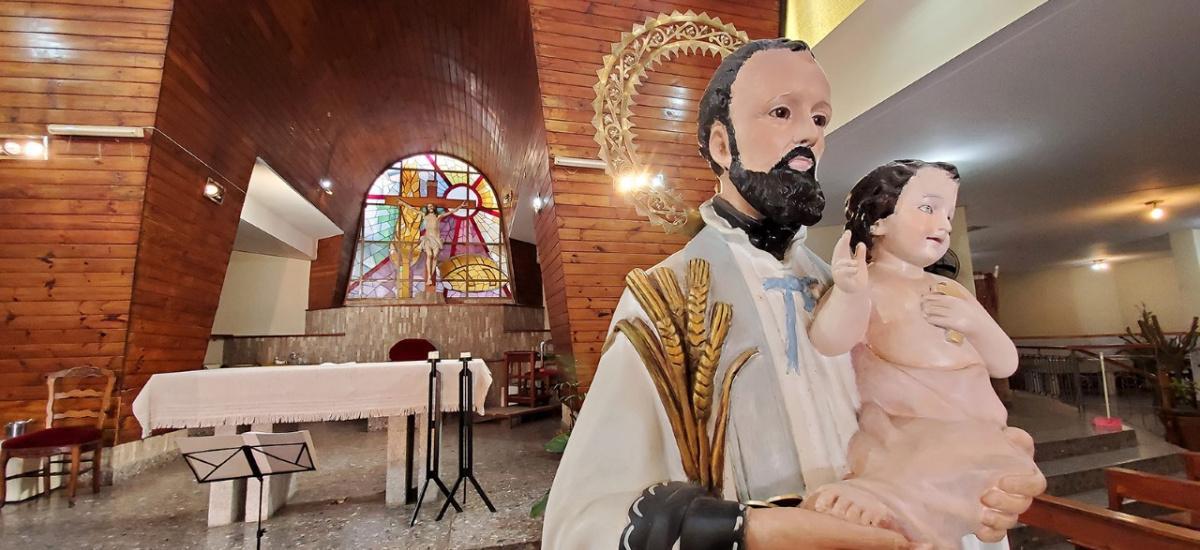 San Cayetano: El municipio invitó a los fieles a expresar su fe desde casa