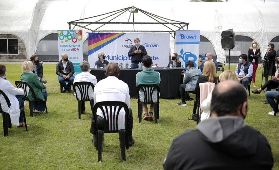Almirante Brown es el primer municipio donante de la provincia de Buenos Aires
