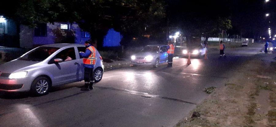 Don Orione: Secuestran vehículos por alcoholemia positiva