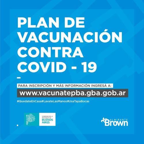 Convocan a vecinos brownianos a registrarse para vacunarse contra el covid