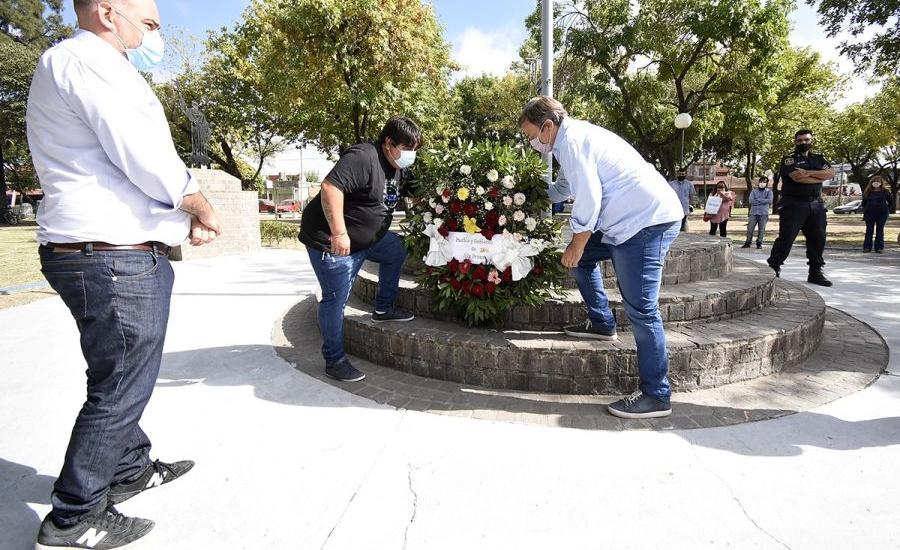 Cascallares encabezó homenaje por el 72 aniversario de San Francisco Solano