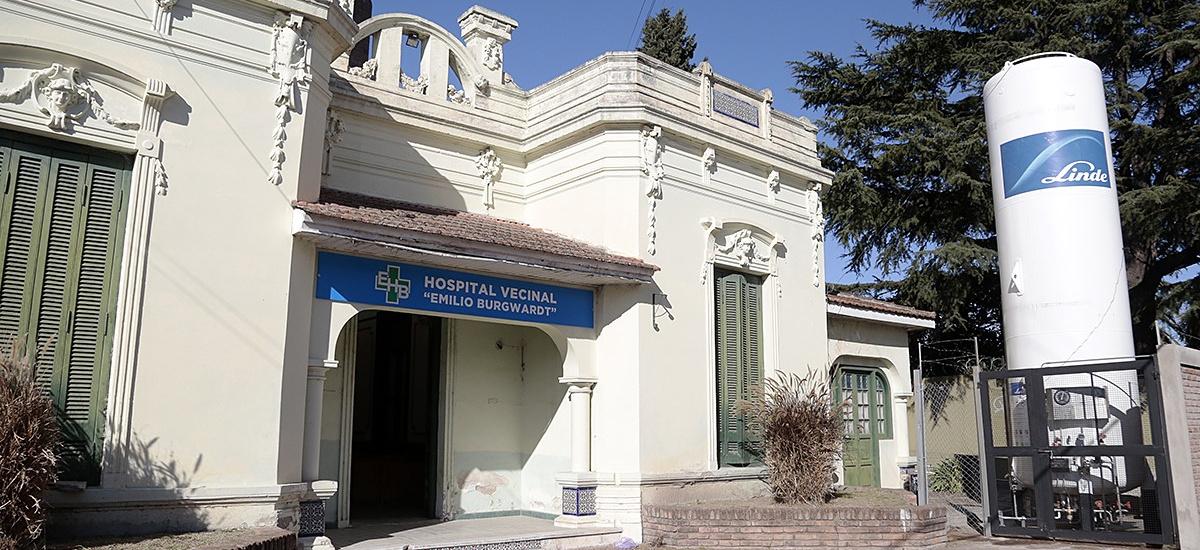 El Hospital Burgwardt funciona como centro de atención médica de Covid-19