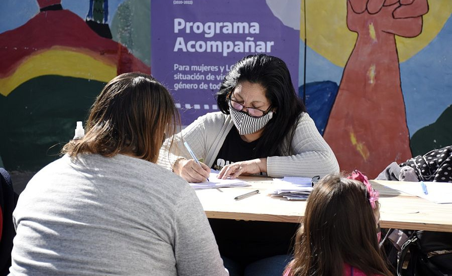 """Arrancó el """"Programa Acompañar"""" en Brown, articulado entre Nación y el Municipio"""