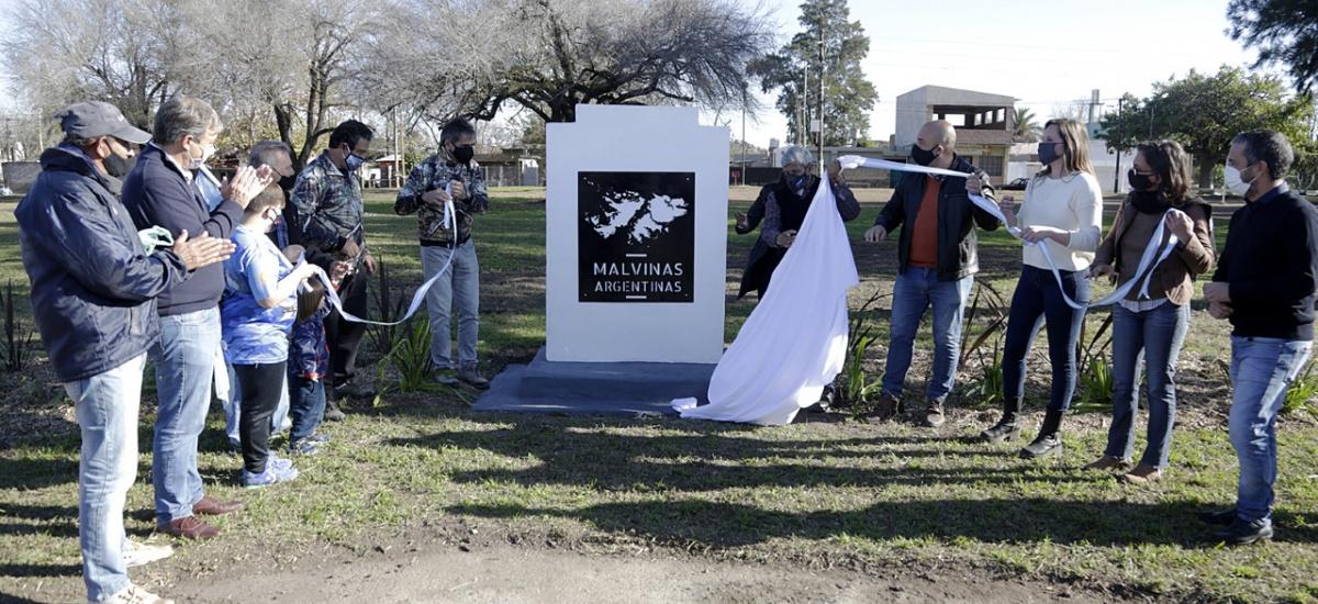 Cascallares encabezó homenaje a ex combatientes en el Día de los Derechos sobre Malvinas