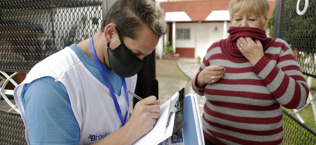 """El Municipio ya inscribió casa por casa a más de 60 mil vecinos en """"Buenos Aires Vacunate"""""""