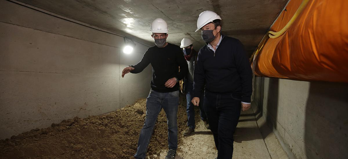 Cascallares recorrió obra hidráulica histórica que beneficia a 72 mil vecinos