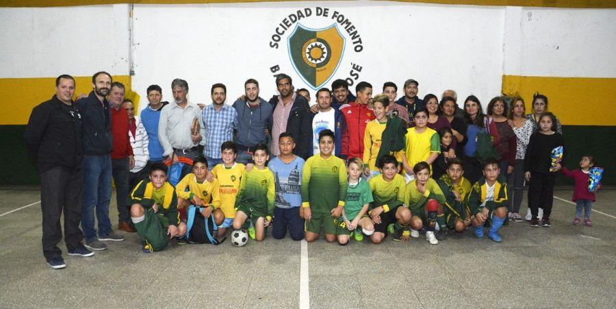 El municipio puso en valor la Sociedad de Fomento barrio San José
