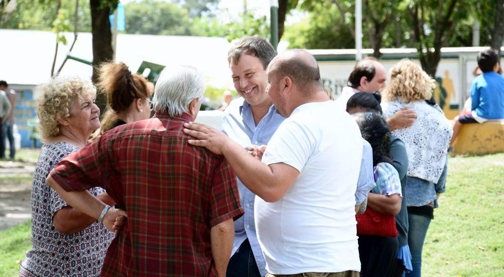 EL MUNICIPIO PRESENTE EN MALVINAS ARGENTINAS, CON OBRAS Y SERVICIOS