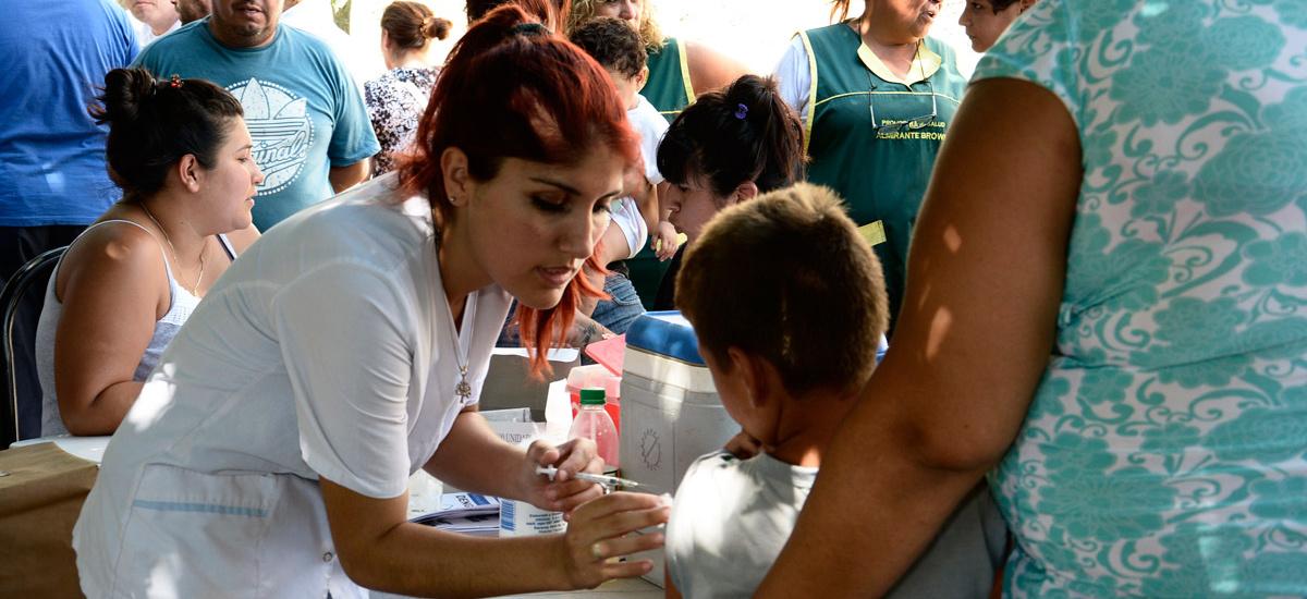 El Municipio acercó servicios de salud a los vecinos del barrio Libertad en Don orione