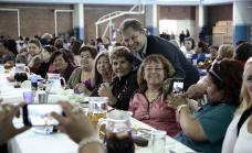 CASCALLARES JUNTO A 800 TRABAJADORAS SOCIALES DE ALTE BROWN