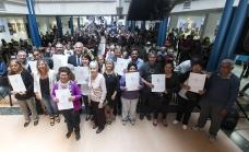 Cascallares entregó escrituras a otras 291 familias brownianas