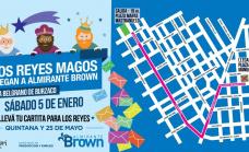 Llegan los Reyes Magos y la Feria Brown a Cielo Abierto