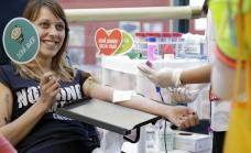 Jornada de promoción de donación de sangre en Alte Brown