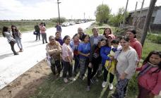 Cascallares recorrió las obras de Espora y de la Ruta 16 que avanzan a todo ritmo