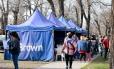 El municipio brinda servicios en Glew con el Estado Presente en tu Barrio