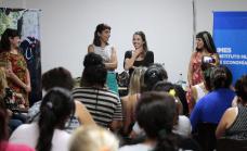 Primer encuentro de mujeres emprendedoras de Alte Brown