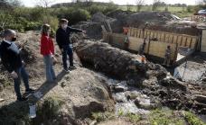 Cascallares recorrió obras en Glew, Burzaco y Ministro Rivadavia