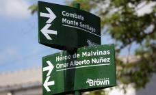 El municipio homenajeó a ex combatiente de Malvinas  imponiendo su nombre a una calle de Longchamps