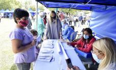 El municipio puso en marcha un operativo integral de servicios en Calzada